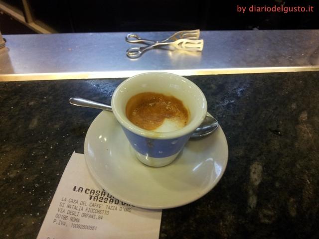 Foto La Casa del Caffè Tazza d'Oro Caffè espresso