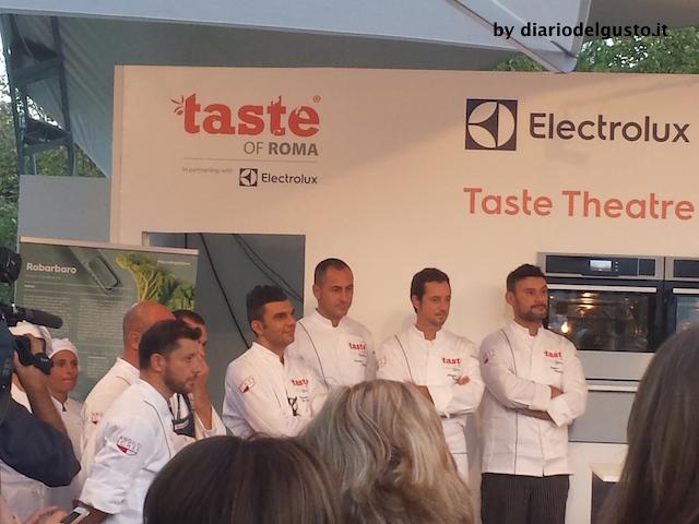 Foto Taste of Roma Chef alla conferenza stampa