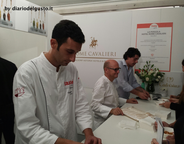 Foto Taste of Roma Heinz Beck e staff